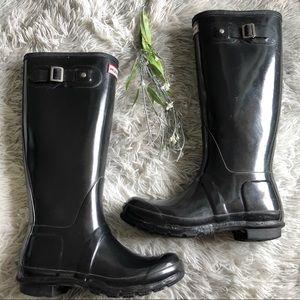 Hunter Original High Gloss Waterproof Boot 7F/6M